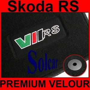tapis auto personnalise skoda rs sport auto tapis With tapis skoda fabia