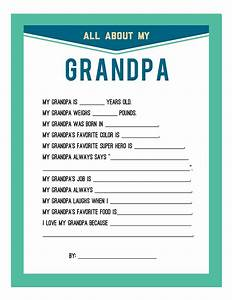 Fathers Day Printable | Persnickety Prints