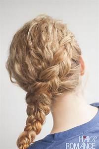 Curly Side Braid Hairstyle Tutorial Hair Romance