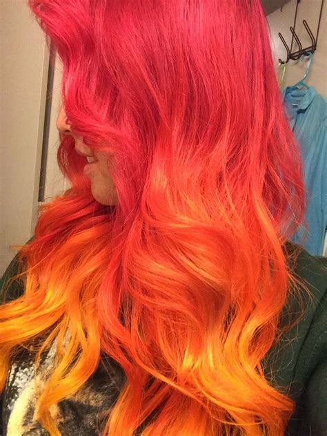 1000 Ideas About Red Ombre On Pinterest Ombre Ombre