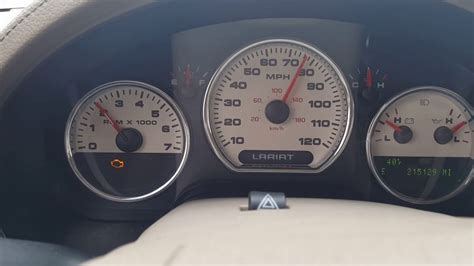 f150 check engine light 2005 ford f150 blinking check engine light youtube
