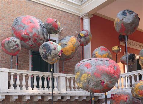 phyllida barlow provokes  sense  folly   british pavilion   venice art biennale