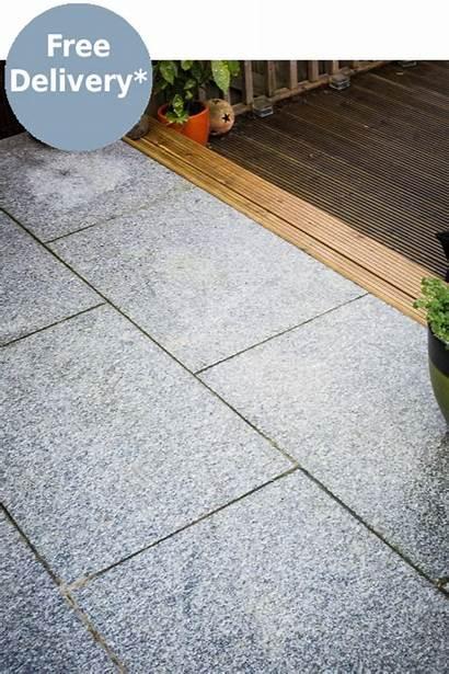 Slabs Paving Granite 900 Patio 600mm Grey