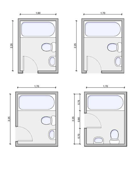 bathroom layout design types of bathrooms and layouts