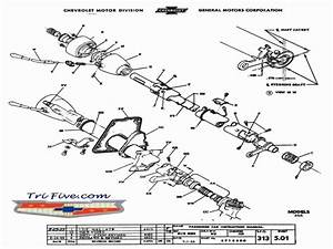 1956 Chevy Steering Column Wiring Diagram