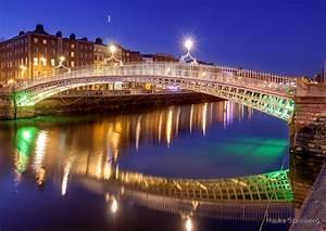 """Ha'penny bridge, Dublin"" by Hauke Steinberg Redbubble"