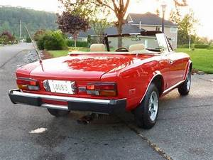 1981 Fiat Spider 124 Sport Convertible Coupe