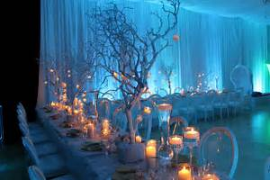 Image of: 7 Tip Creating Perfect Winter Wonderland Wedding Applicable Beach Theme Décor With Fresher Ideas And Results