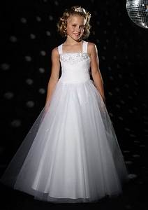 white bridesmaid dresses for children With childrens wedding dresses