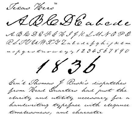 posted image    fashioned fonts handwriting