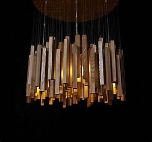 Luminaire En Bois : la suspension luminaire sous toutes ses formes ~ Teatrodelosmanantiales.com Idées de Décoration