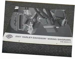 2007 Harley Davidson Softail Motorcycle Electrical Wiring