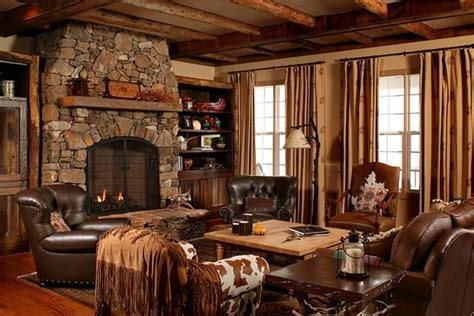 Incredible Design Schemes For Country Style Living Room