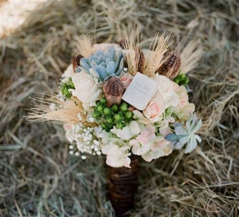 rustic wedding flowers images  pinterest