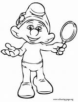Coloring Smurfs Pages Colouring Smurf Vanity Characters Meet Cartoon Movie Printable Drawing Sheets Main Disney Baby Mirror Adult Hold Christmas sketch template