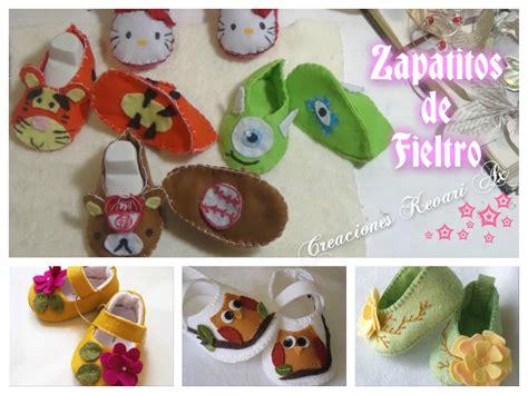 zapatitos de fieltro para bebe patucos con patr 243 n o moldes gratis felt baby shoes