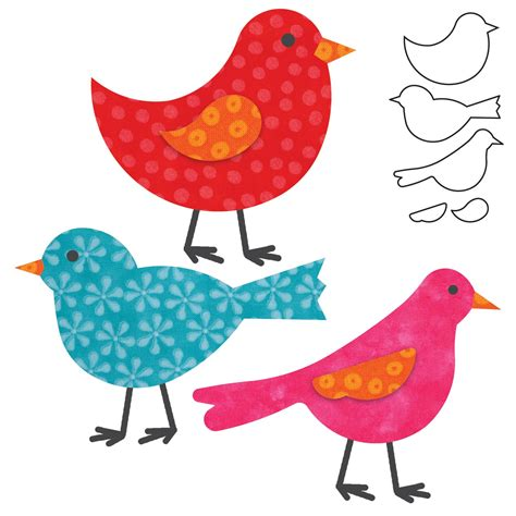 accuquilt go birds marries atelier