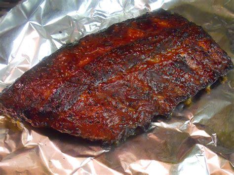 ribs in oven chipotle bbq oven ribs recipe dishmaps