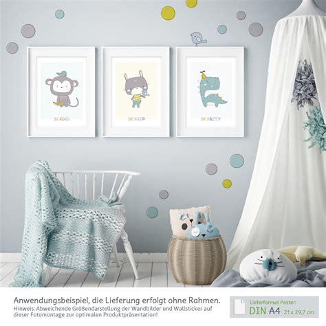 Kinderzimmer Deko Vögel by Kinderzimmer Wanddeko Set Mit 3 A4 Postern Und Wandtattoos