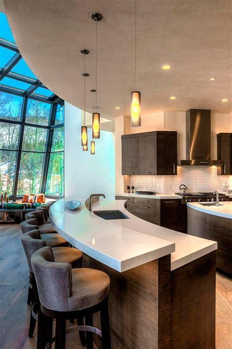 ideas diseno desayunadores la cocina  decoracion de interiores fachadas  casas como