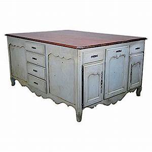Country French Kitchen Island - J Tribble