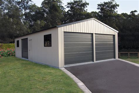 Double Garages   THE Shed Company   Call 1800 821 033