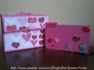 Card Box ( Scrapbook ) Original + Facil ( Manualidades Para San Valentin 3 YouTube