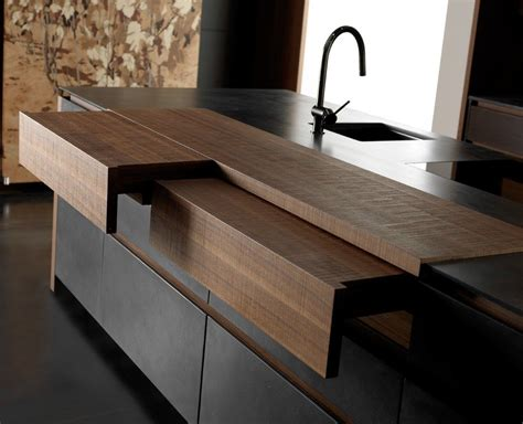 Kitchen Bar Extender by Sliding Countertops And Hideaway Kitchen Features