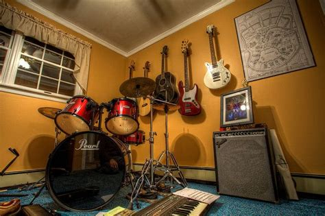 Scene From A Musician's Room