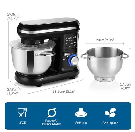 mixer professional kitchen hardwired fun specifications