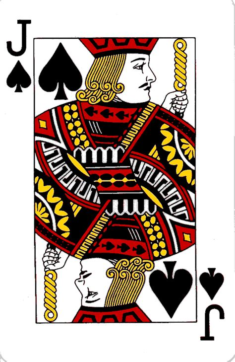 spades card courts on playing cards