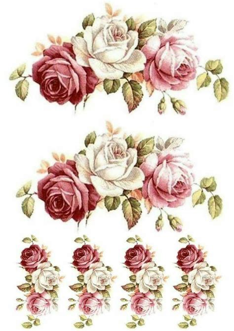 free pattern printables decoupage decoupage pinterest decoupage flowers and
