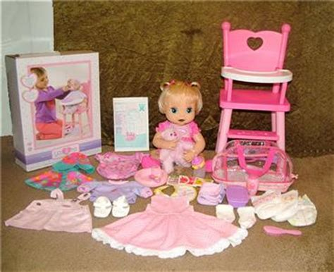 2006 hasbro baby alive soft doll food clothes