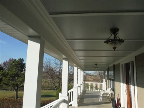 hardie smooth panel  hardie crown farmhouse style house plans porch ceiling house exterior