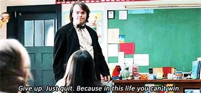 Rock Teachers Quotes Relatable Teacher Gifs Jack