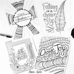 Adult Coloring Pages Free Printable Inspirational Quotes