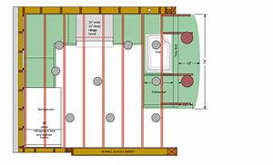 How to layout recessed lighting in basement : Recessed lighting the top placement
