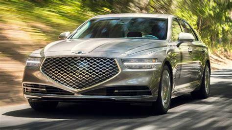 Hyundai's Genesis G90 Facelift Revealed At 2019 LA Auto Show