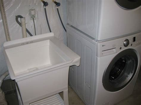 washer drains into sink install laundry room utility sink download free apps