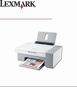 Lexmark Printer 2500 Series User Guide