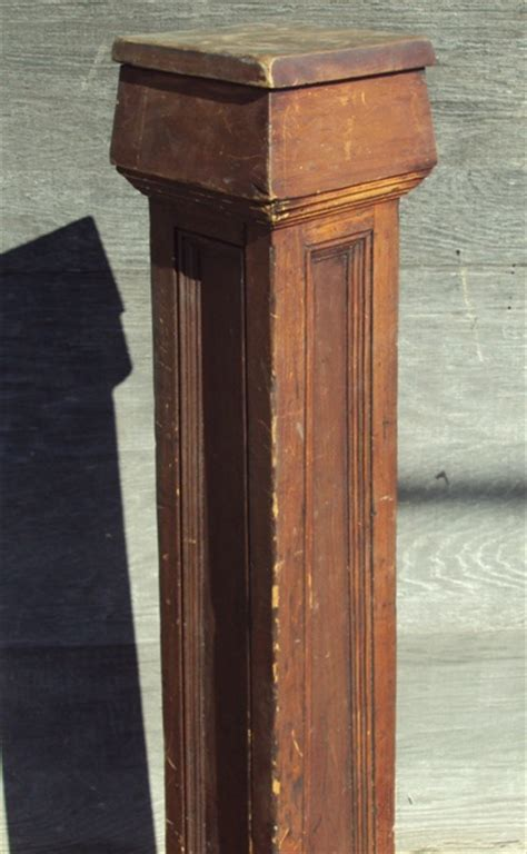Arts & Crafts Newel Post   Recycling the Past