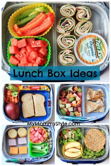 ideas for lunches back to school lunch box ideas