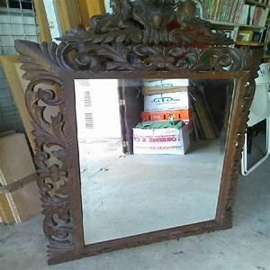 Miroir Cadre Bois : miroir ancien clasf ~ Teatrodelosmanantiales.com Idées de Décoration