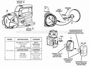 Craftsman 315115930 Parts List And Diagram