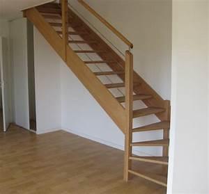 Escalier Quart Tournant Bas : escalier bois quart tournant bas ~ Dailycaller-alerts.com Idées de Décoration