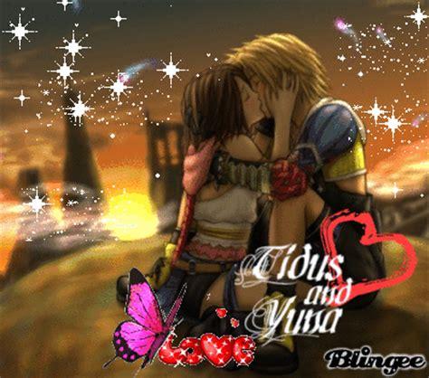 tidus  yuna kiss picture  blingeecom