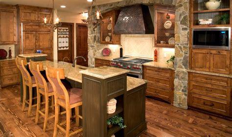 green kitchen island cómo decorar cocinas rústicas