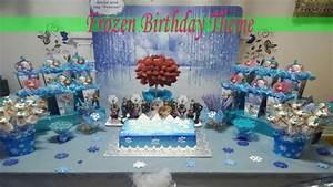 Frozen Birthday Theme Party Ideas ملكة الثلج فروزن