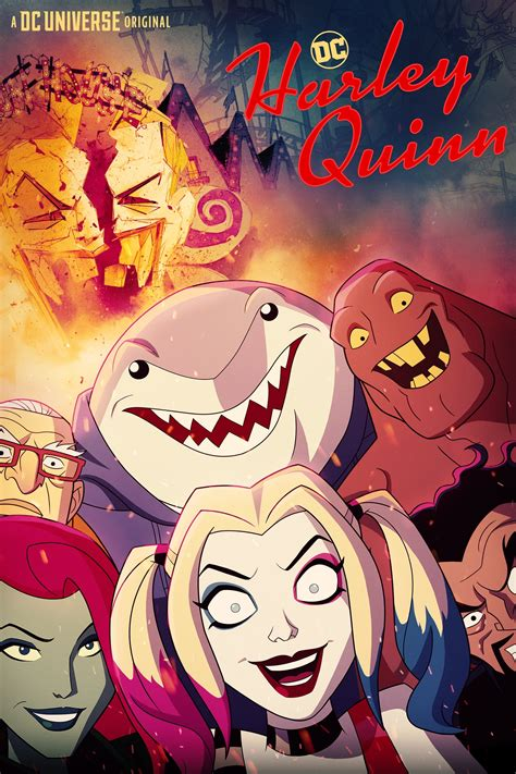 Harley Quinn (TV Series 2019- ) - Posters — The Movie ...