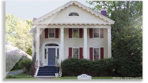 desain rumah gaya amerika klasik  simple sederhana